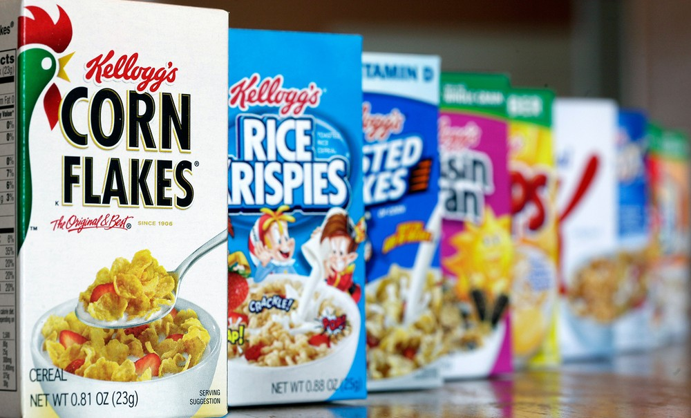 Kellogg's Corn Flakes, other Cereals