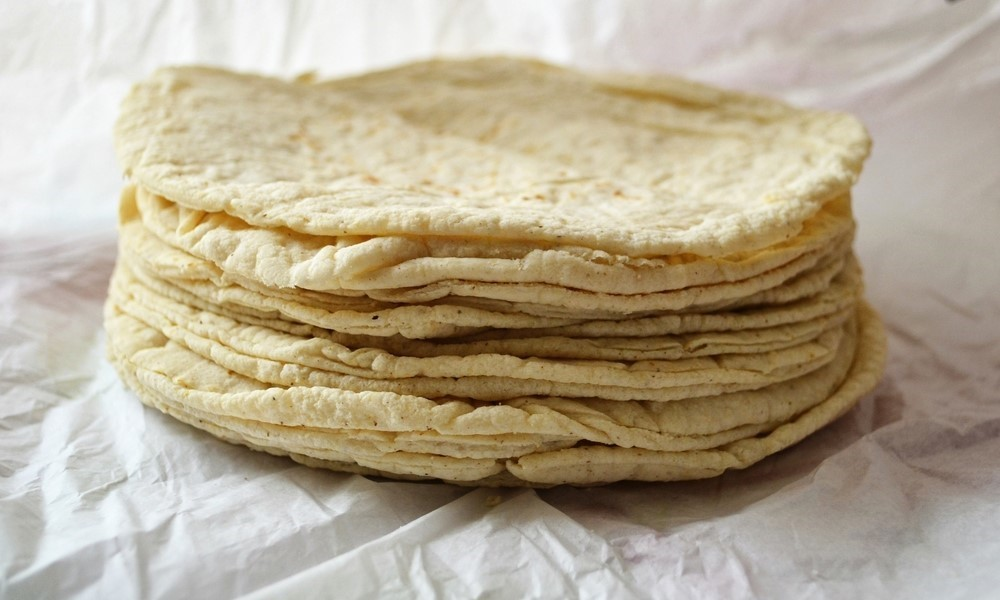 corn tortillas, Mexican food