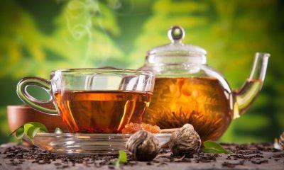 Different types of tea, healthiest