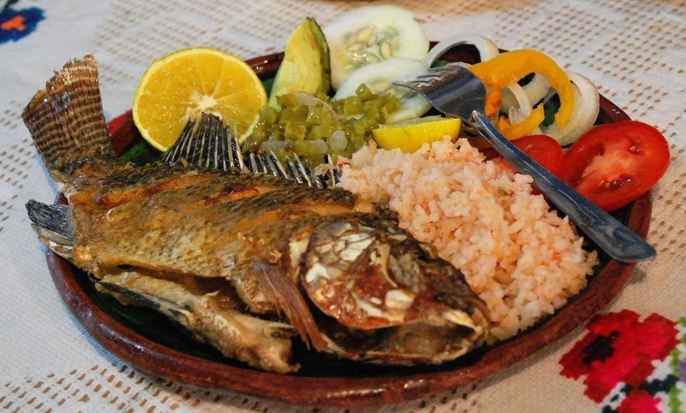 Mojarra Frito, Mexican Fish dish