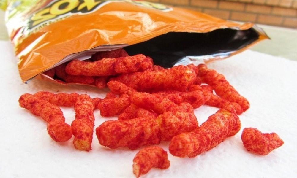 flamin hot hot cheetos