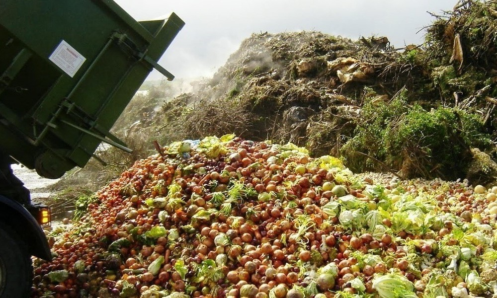 Food Waste, Dump Truck